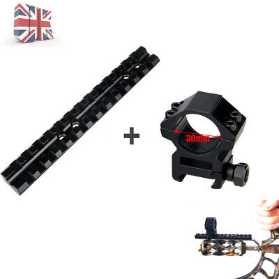 Tactical 30mm Ring Wwaver Rail Mount+13 Slots 20mm Weaver Rail Mount For Hunting