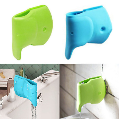 Baby Care Bath Spout Tub Safety Water Faucet Cover Elephant Protector Bathing