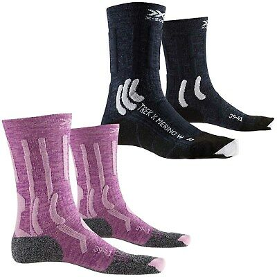 X-Socks Trek X Merino Trekkingsocken Damen Outdoor Wandersocken Funktionssocken