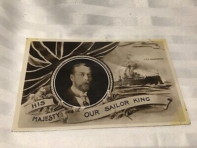 His Majesty King George V Postcard