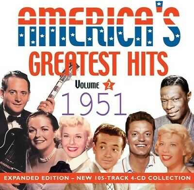 America's Greatest Hits 1951 - 4 DISC SET - Various Artist (CD New)