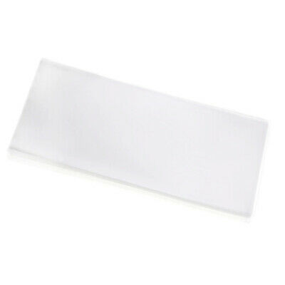 50X Paper Money Collectible Bag Storage Notes Banknote Holder 180x80mm