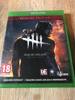 Dead By Daylight Xbox One IN EXCELLENT CONDITION SEE PHOTOS -FAST & FREE POSTAGE