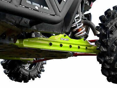 SuperATV Rear Trailing Arms for Polaris RZR XP 1000 (2014+) - Lime Squeeze