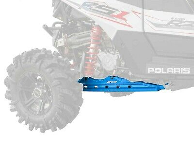 SuperATV Rear Trailing Arms for Polaris RZR RS1 (2018+) - Blue