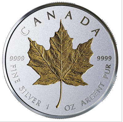 2019 $20 40th Anniversary of the Gold Maple Leaf - Pure Silver Coin