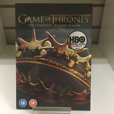 Game Of Thrones Complete Second Season DVD - New and Sealed