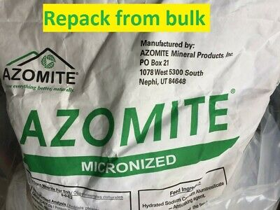 Azomite Vegetable Flower plants fruits organic liquid fertilizer wormtea
