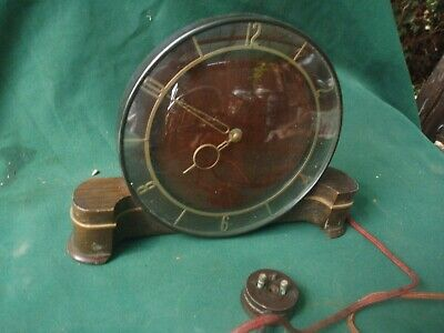 SMITHS SECTRIC ART DECO  MANTEL CLOCK,  possibly ANTIQUE