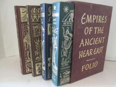 Empires of the Ancient Near East Folio Society Slipcased 4 Editions Includes Egy