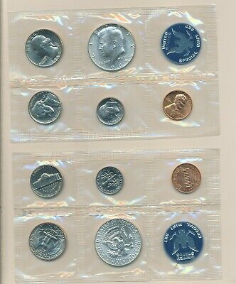 1965 SPECIAL MINT SET &  MINT SEALED - SILVER KENNEDY- choice
