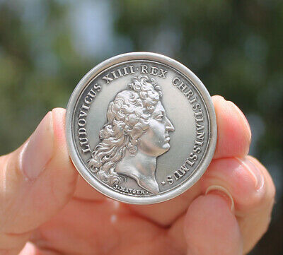 France, King Louis XIV, prize for art, history, astronomy, SILVER