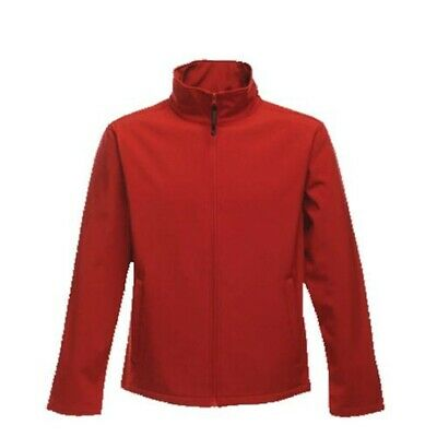 Regatta Tra692 Mens Print Perfect Softshell Red L