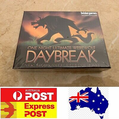 One Night Ultimate Werewolf Daybreak Game, AU Stock, Fast Delivery