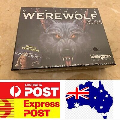 One Night Ultimate Werewolf Deluxe Edition, AU Stock, Fast Delivery