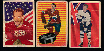 1963-64 Parkhurst Hockey Card Near Set