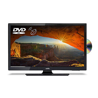 "Cello 22"" Full HD 1080p LED TV with Freeview and Satellite Tuner + DVD Player"