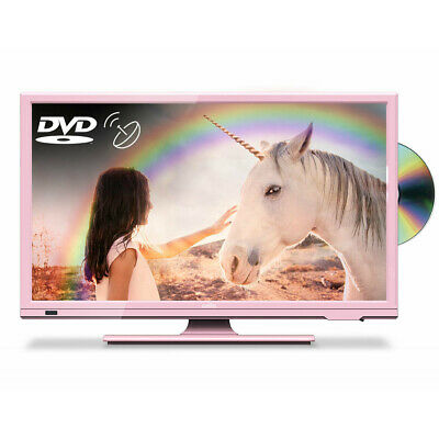 "Cello Pink 20"" HD Ready LED TV with Freeview and Satellite Tuner + DVD"