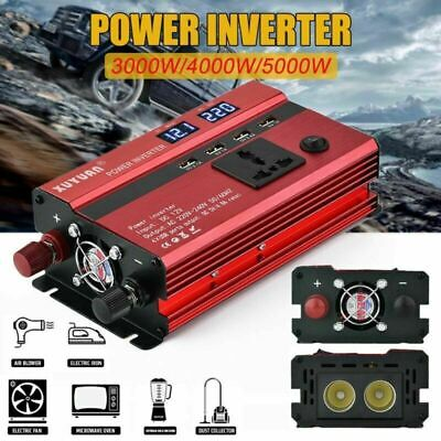 3000W/4000W/5000W Car Power Inverter DC 12V To AC 110V/220V Sine Wave Converter