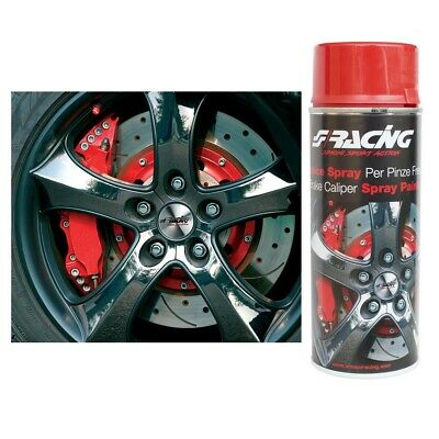 Vernice Spray Rossa 400ml per Pinze Freno Motore Auto Simoni Racing