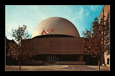 Dr Jim Stamps Mclaughlin Planetarium Toronto Canada Chrome Postcard