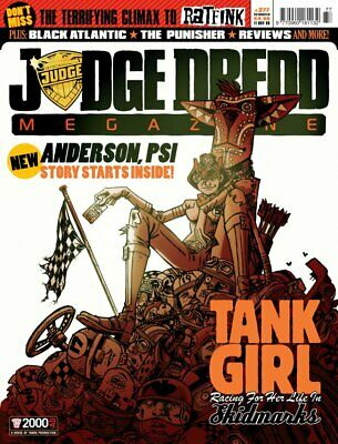 JUDGE DREDD - THE MEGAZINE - ISSUE 277 with SUPPLEMENT (2000AD) - NEW* 2008