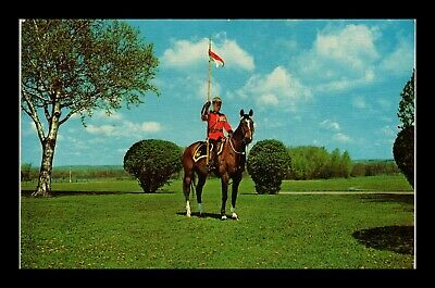 Dr Jim Stamps Royal Canadian Mounted Police Canada Topical Postcard