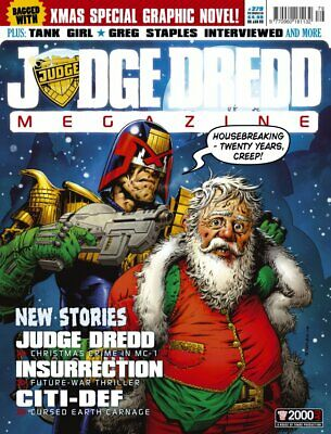 JUDGE DREDD - THE MEGAZINE - ISSUE 279 with SUPPLEMENT (2000AD) - NEW* 2008