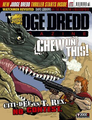 JUDGE DREDD - THE MEGAZINE - ISSUE 280 with SUPPLEMENT (2000AD) - NEW* 2009