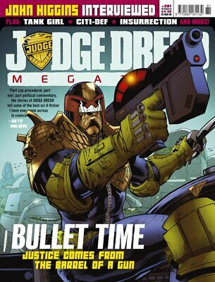 JUDGE DREDD - THE MEGAZINE - ISSUE 281 with SUPPLEMENT (2000AD) - NEW* 2009