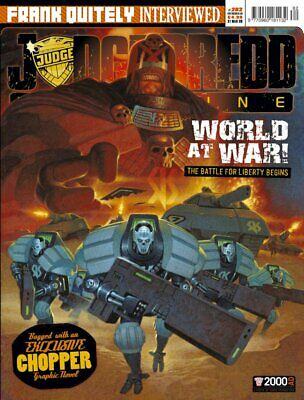 JUDGE DREDD - THE MEGAZINE - ISSUE 282 with SUPPLEMENT (2000AD) - NEW* 2009