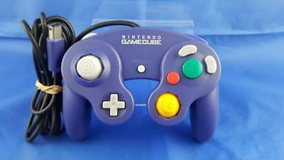 Nintendo Gamecube Original Purple Controller Wired Gaming Pad Official DOL-003
