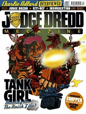 JUDGE DREDD - THE MEGAZINE - ISSUE 283 with SUPPLEMENT (2000AD) - NEW* 2009
