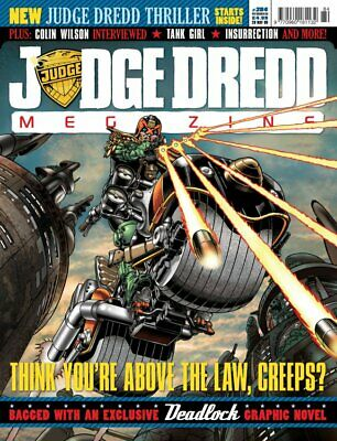 JUDGE DREDD - THE MEGAZINE - ISSUE 284 with SUPPLEMENT (2000AD) - NEW* 2009