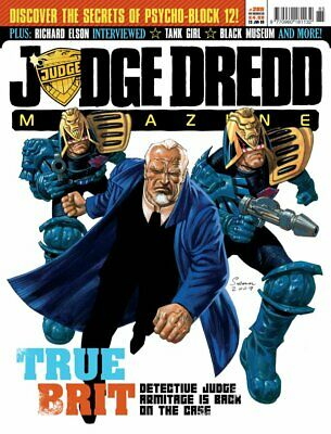 JUDGE DREDD - THE MEGAZINE - ISSUE 285 with SUPPLEMENT (2000AD) - NEW* 2009