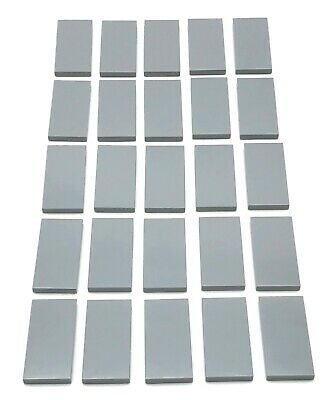 Lego 50 New 1 x 8 Tiles Flat Smooth Pieces Parts