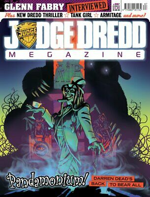 JUDGE DREDD - THE MEGAZINE - ISSUE 287 with SUPPLEMENT (2000AD) - NEW* 2009