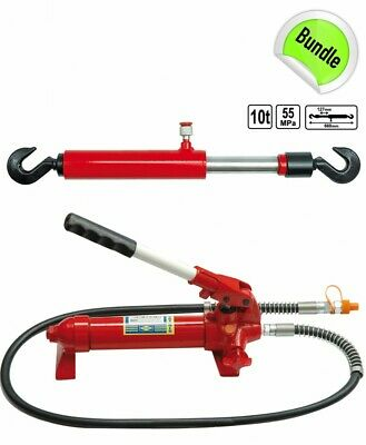 Hand Pump Hydraulic Zugylinder for Target Rate 10 Tons