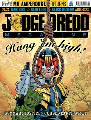 JUDGE DREDD - THE MEGAZINE - ISSUE 291 with SUPPLEMENT (2000AD) - NEW* 2009