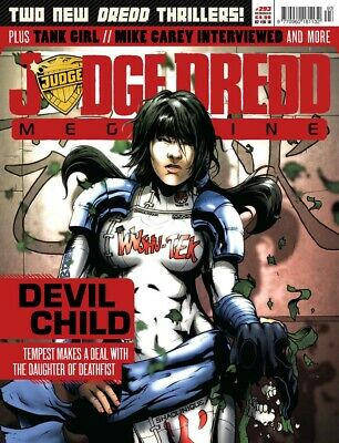 JUDGE DREDD - THE MEGAZINE - ISSUE 293 with SUPPLEMENT (2000AD) - NEW* 2010