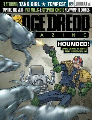 JUDGE DREDD - THE MEGAZINE - ISSUE 295 with SUPPLEMENT (2000AD) - NEW* 2010