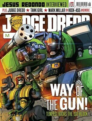 JUDGE DREDD - THE MEGAZINE - ISSUE 296 with SUPPLEMENT (2000AD) - NEW* 2010