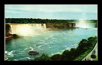 Dr Jim Stamps American Horseshoe Falls Niagara Canada Postcard Colourpicture