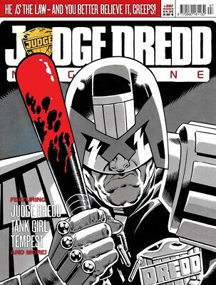 JUDGE DREDD - THE MEGAZINE - ISSUE 297 with SUPPLEMENT (2000AD) - NEW* 2010