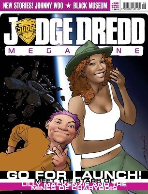 JUDGE DREDD - THE MEGAZINE - ISSUE 298 with SUPPLEMENT (2000AD) - NEW - 2010