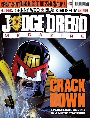 JUDGE DREDD - THE MEGAZINE - ISSUE 299 with SUPPLEMENT (2000AD) - NEW - 2010