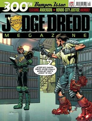 JUDGE DREDD - THE MEGAZINE - ISSUE 300 with SUPPLEMENT+ (2000AD) - NEW - 2010