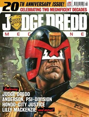 JUDGE DREDD - THE MEGAZINE - ISSUE 302 with SUPPLEMENT (2000AD) - *NEW - 2010