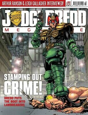 JUDGE DREDD - THE MEGAZINE - ISSUE 303 with SUPPLEMENT (2000AD) - *NEW - 2010