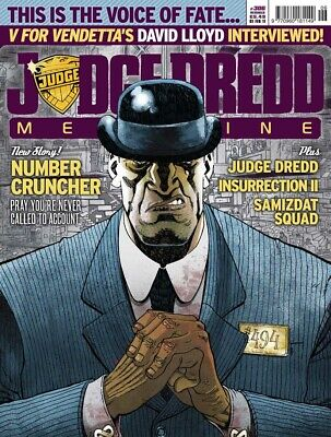 JUDGE DREDD - THE MEGAZINE - ISSUE 306 with SUPPLEMENT (2000AD) - NEW - 2010